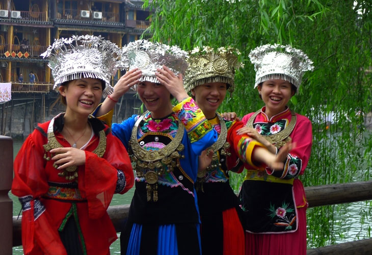 Touristes chinoises...