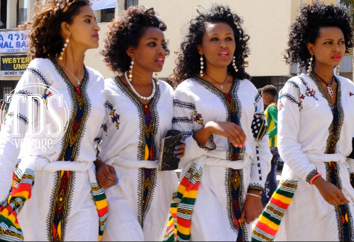 Les vêtements traditionnels du nord de l'Ethiopie