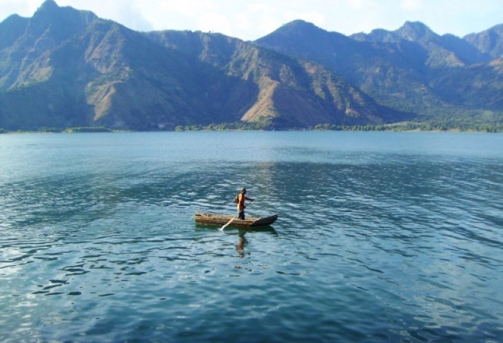 Immersion sur le lac Atitlan