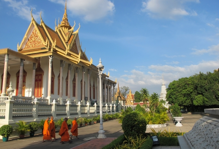 Temple Phnom Pen